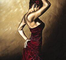 Flamenco Woman by Richard Young