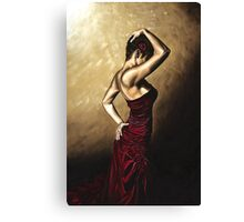 Flamenco Woman Canvas Print