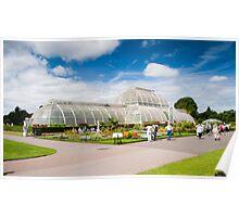 The Palm House Kew Gardens London UK Poster