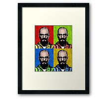 Cranston Pop Art Framed Print