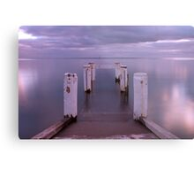 Port Vincent Jetty Metal Print