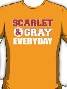 SCARLET & GRAY EVERYDAY T-Shirt