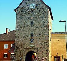 The historic tower of Haslach | architectural photography by Patrick Jobst