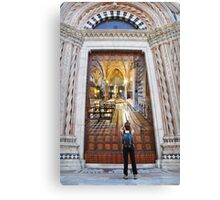 Remember Siena Canvas Print