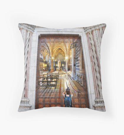 Remember Siena Throw Pillow