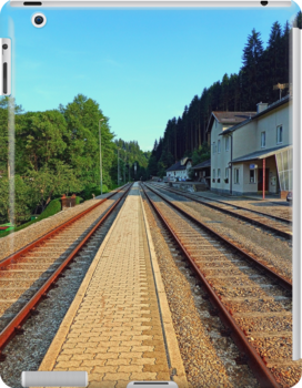 Haslach railway station   architectural photography by Patrick Jobst