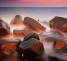Rocks from the embers by Saleh Rubat