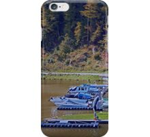 Boats in the harbour II | waterscape photography iPhone Case/Skin