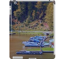 Boats in the harbour II | waterscape photography iPad Case/Skin