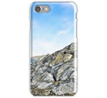 beach and boulders at ballybunion iPhone Case/Skin