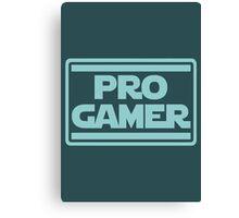 Pro Gamer Canvas Print