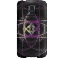 purple yellow? /black Samsung Galaxy Case/Skin