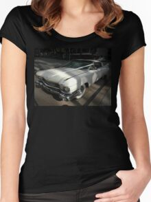 White Cadillac, Sydney, Australia Women's Fitted Scoop T-Shirt