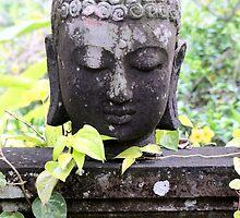 Buddha in Murni's Villas, Bali by JonathaninBali