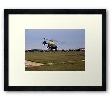 Police Helicopter Framed Print