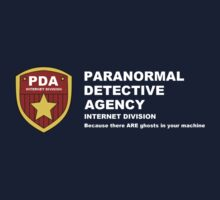 Paranormal Detective Agency (Internet Division) Kids Tee
