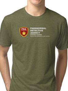 Paranormal Detective Agency (Internet Division) Tri-blend T-Shirt