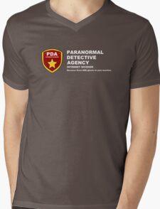 Paranormal Detective Agency (Internet Division) Mens V-Neck T-Shirt