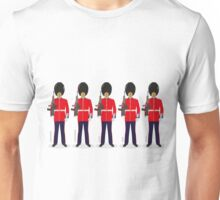 British Guardsmen Parade Unisex T-Shirt