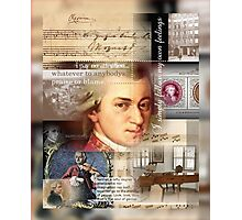 mozart Photographic Print