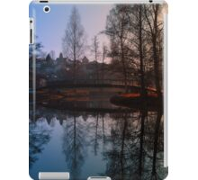 A bridge, the river and reflections III | waterscape photography iPad Case/Skin