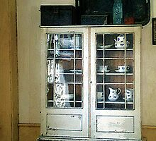 Great-Aunt Mae's China Closet by RC deWinter