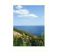 Cape Breton - Golden Rod Art Print