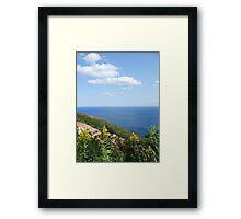 Cape Breton - Golden Rod Framed Print