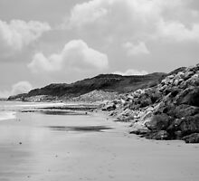 beach beside the links by morrbyte