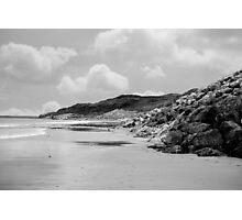 beach beside the links Photographic Print