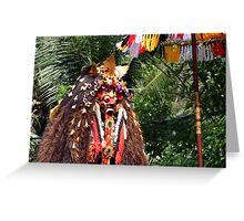 Rangda, Ubud, Bali Greeting Card