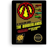 Borderlands - 8 Bit NES Artwork Cover Canvas Print