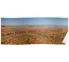 Over the Bungle Bungle Range Poster