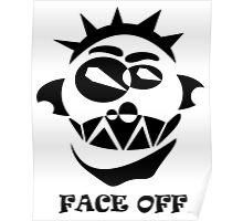 Face Off(Black) Poster