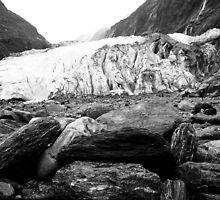 Franz Joseph Glacier by Geoff Smith