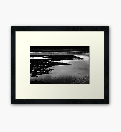 Lake Mood Framed Print
