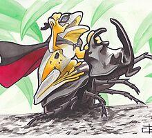 Super Rodeo Frog by geishablack