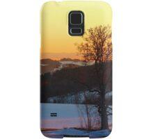 Colorful winter wonderland sundown V | landscape photography Samsung Galaxy Case/Skin