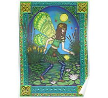 The Lilly Pond Fairy Poster