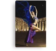 Sun Court Dancer Canvas Print