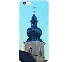 The village church of Altenfelden | architectural photography iPhone Case/Skin