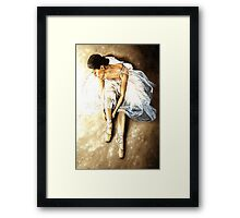 Tranquil Preparation Framed Print