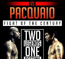 Mayweather vs. Pacquiao - POSTER by renegade1984