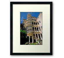 Scala Contarini del Bovolo Framed Print