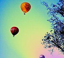 Flying to Wonderland by seby