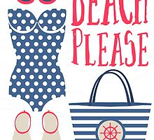Beach Please Fashion Set by junkydotcom