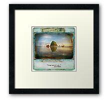 The Dream Traveler Foxfires Calendar - December Framed Print