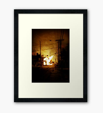 The Moment Things Changed Forever Framed Print