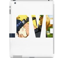 Naruto and Hinata - Love  iPad Case/Skin