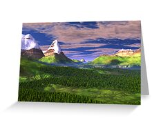 Inner Valley of the Sharrosflow Greeting Card